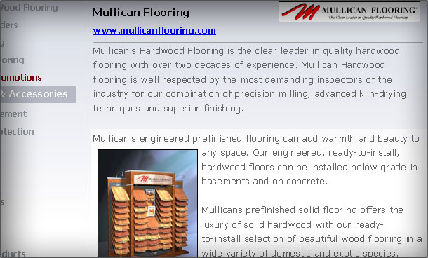 Custom Wholesale Floors website gallery 3